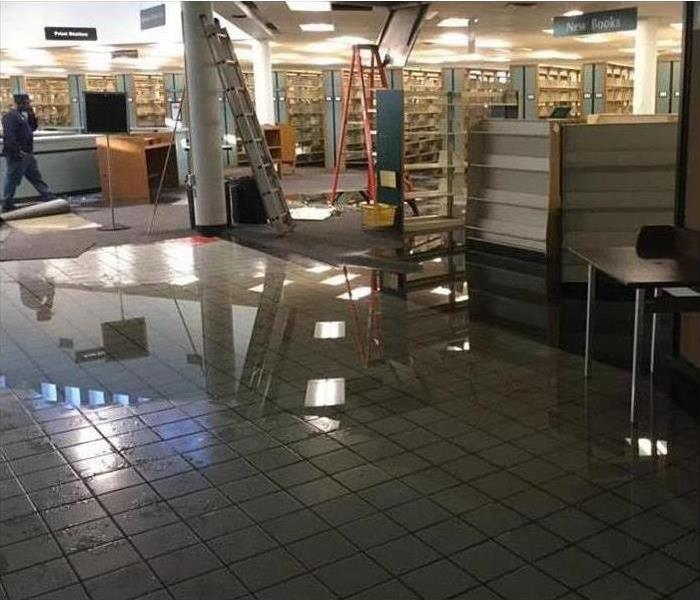 Retail Store with Flooded Floor